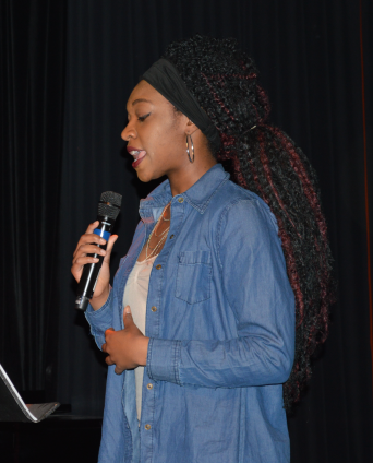 Elysee at Teen Open Auditions Photo by Dahlgren Baker. c Story Stitchers